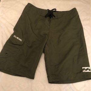 BillaBong Rising Sun Surf Shorts Size 32